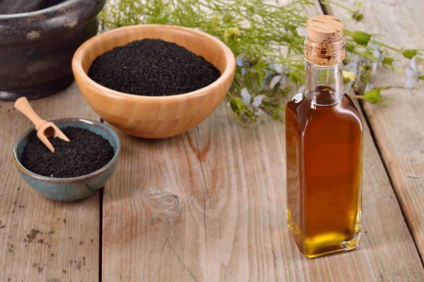 Масло чёрного тмина для диеты