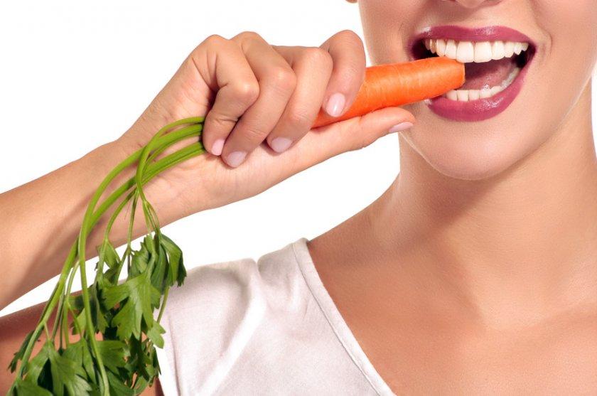 Употребление моркови