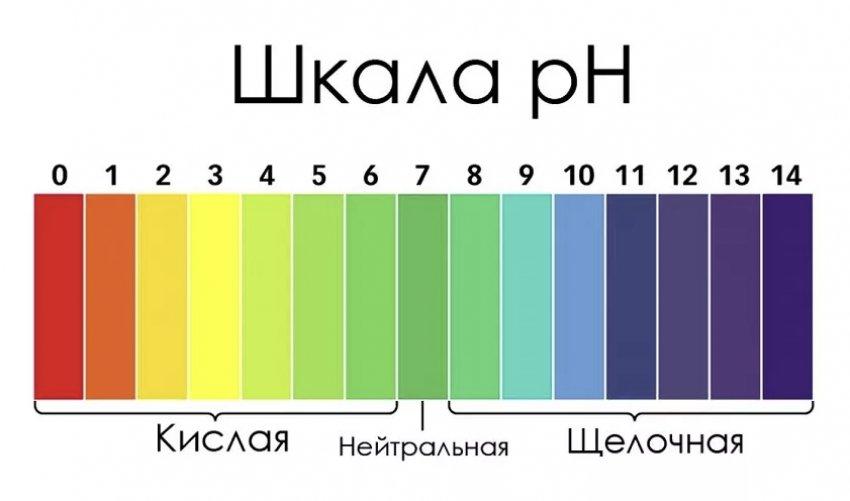 Индикатор кислотности почвы