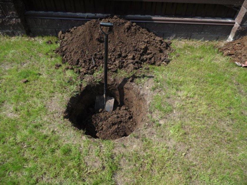 Посадочная яма 60×60 см