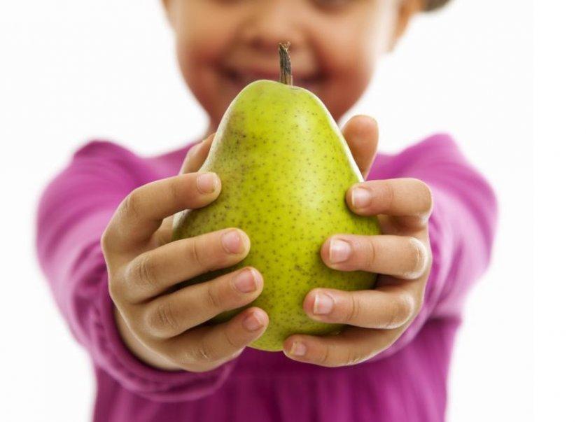Польза груши для детей