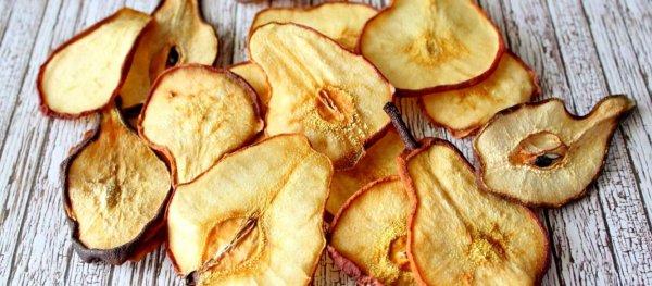 Как правильно подготовить и засушить яблоки и груши