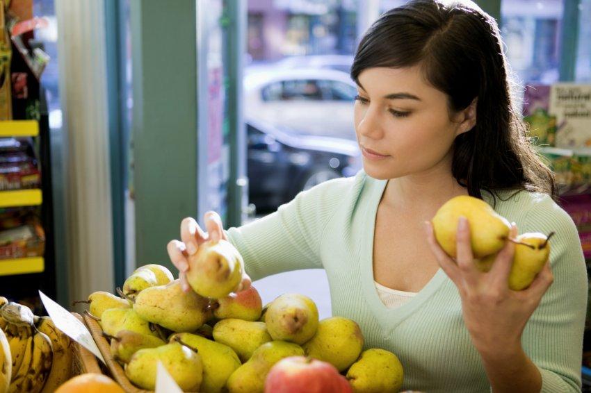 Как выбрать груши в магазине