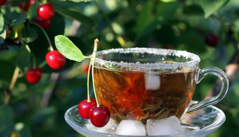 Вишнёвый чай