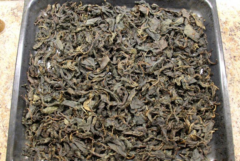Приготовление ферментированного чая