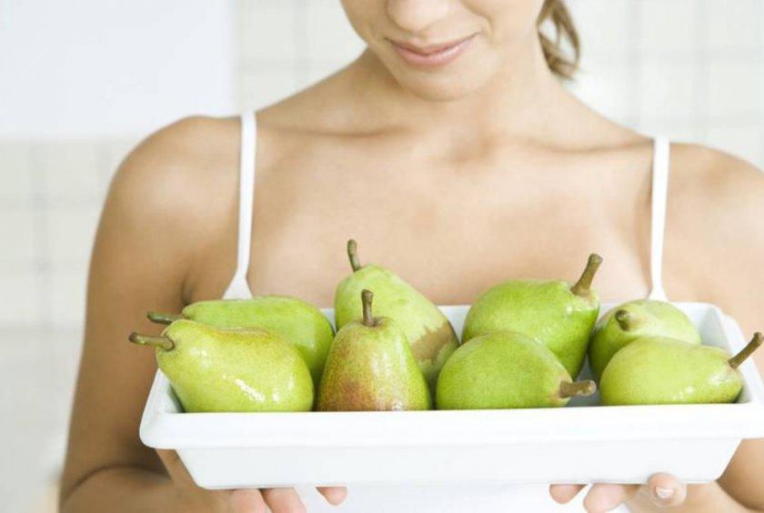 Употребление груши при грудном вскармливании