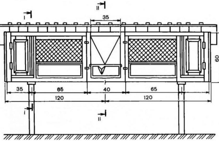 Схема маточника