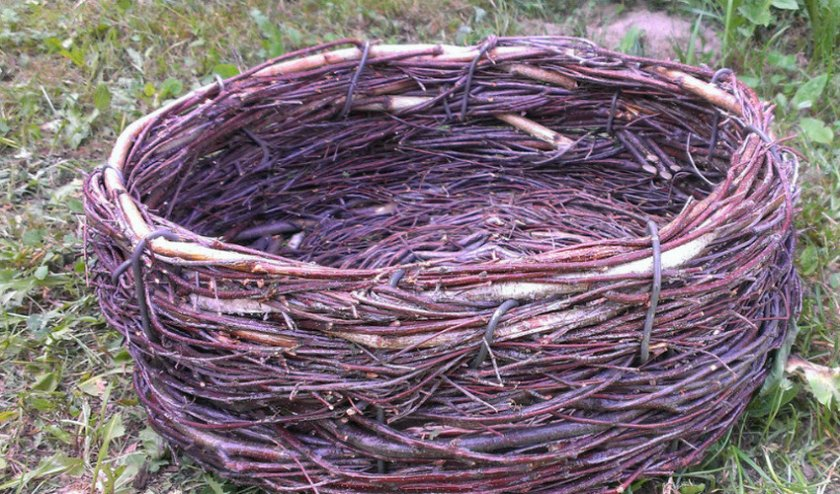 Плетенное гнездо