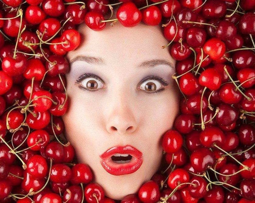 Использование вишни в косметологии