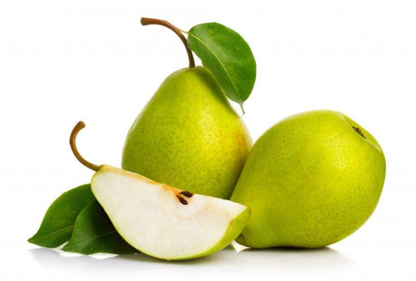 Плоды груши «Свердловчанка»