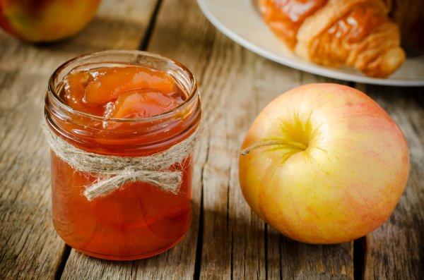 Рецепт Варенье из яблок дольками. Калорийность, химический состав и пищевая ценность.