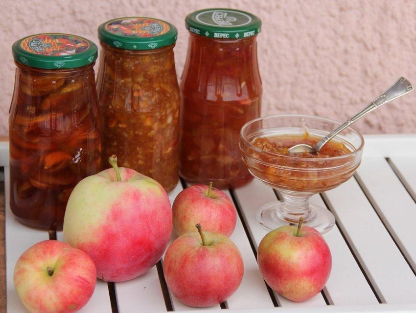 Варения из яблок