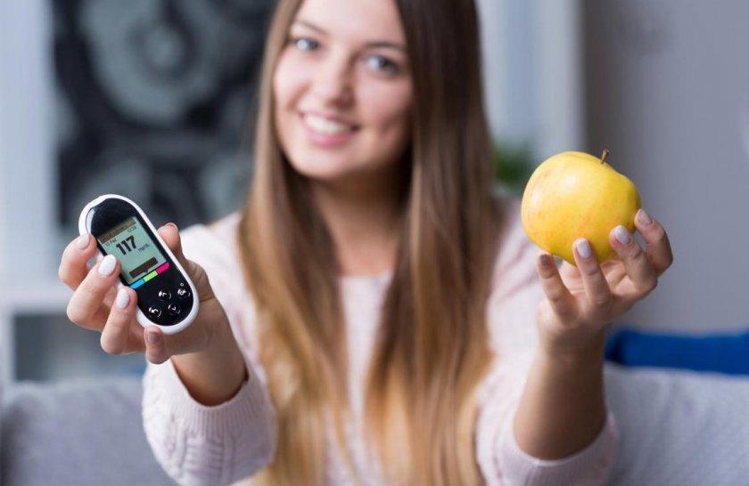 Употребление яблок при диабете