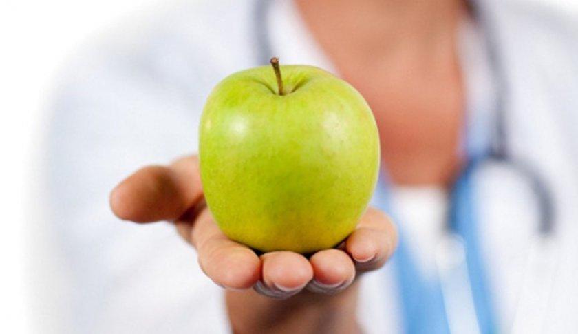 Яблоко при диабете