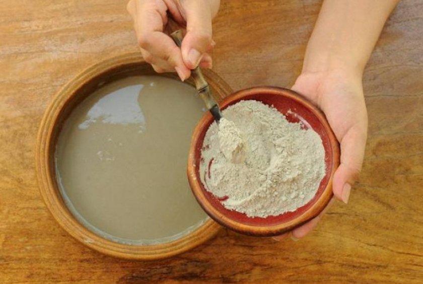 Болтушка из пищевой глины