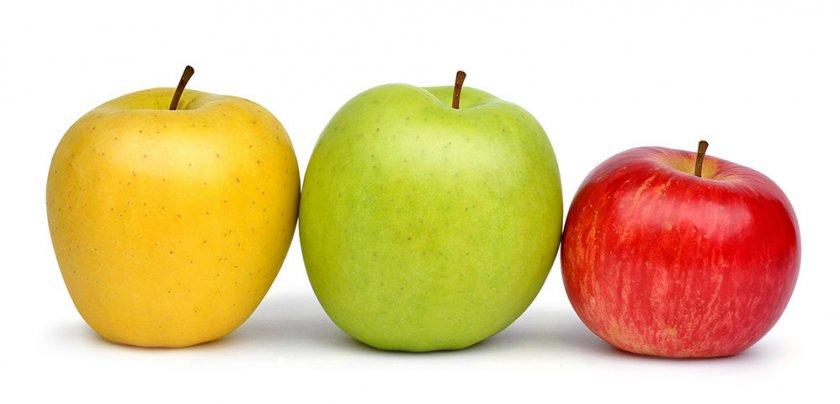 Калорийность разных яблок