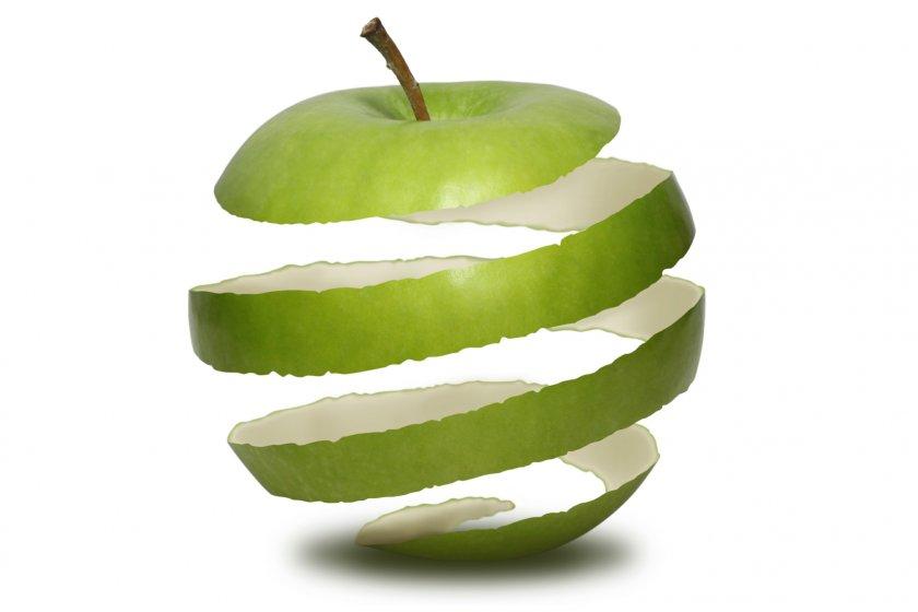 кожура от яблок польза и вред