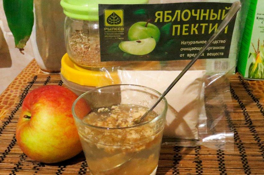 Употребление яблочного пектина