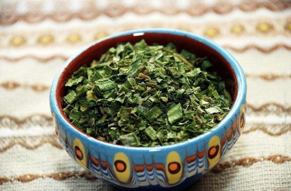 как засушить зеленый лук на зиму
