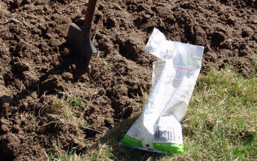 Подготовка грядки для посадки картофеля