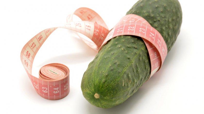 Огурцы при похудении