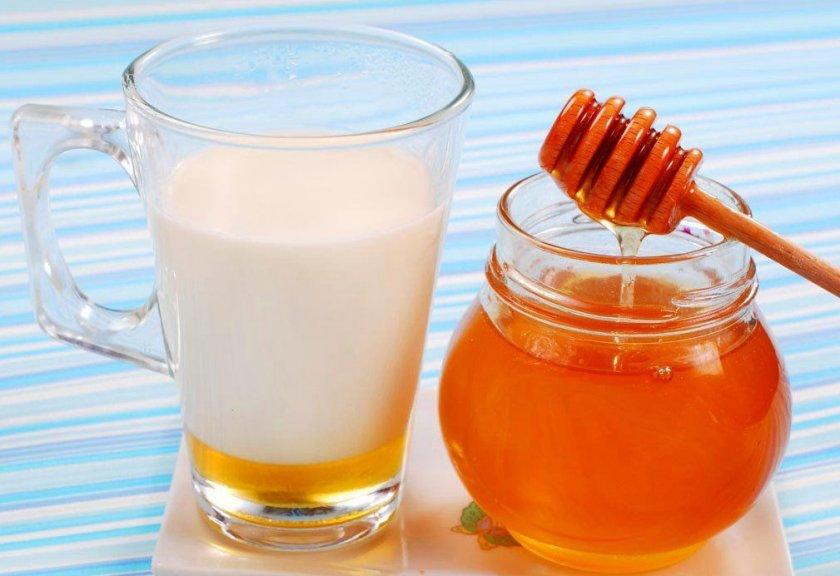 Мёд с кефиром