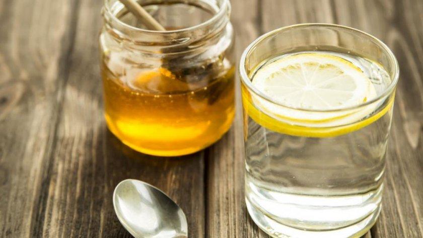 Мёд с водой