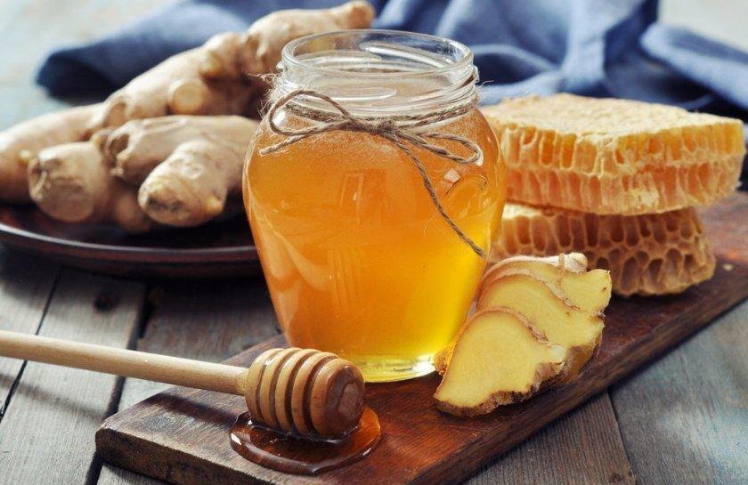Мёд с имбирем
