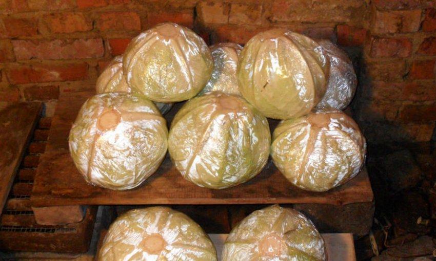 Хранение капусты в пищевой плёнке