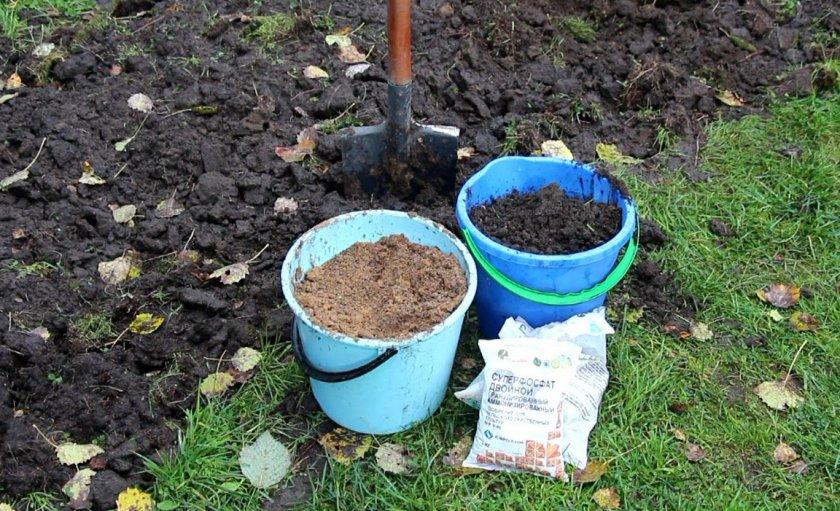 Подготовкка участка под посадку картофеля