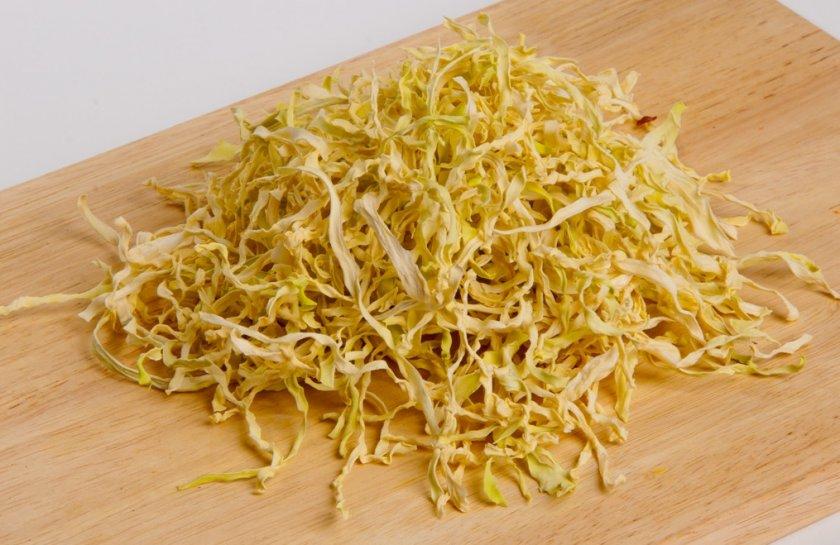 Польза сушеной капусты