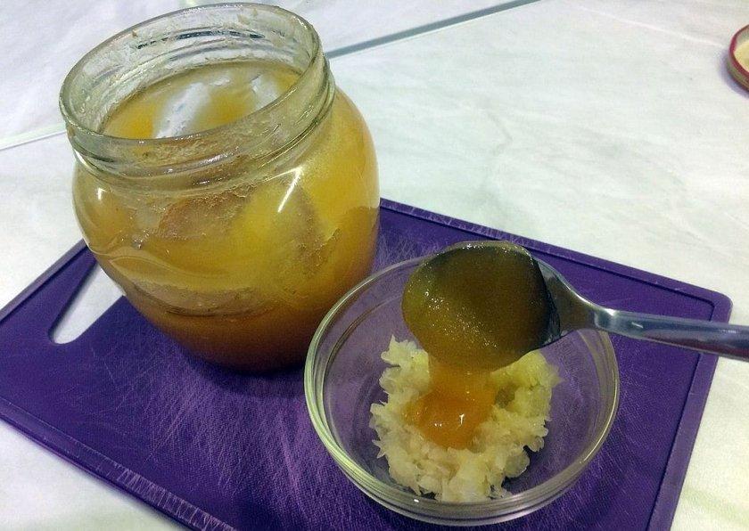Мёд с луком