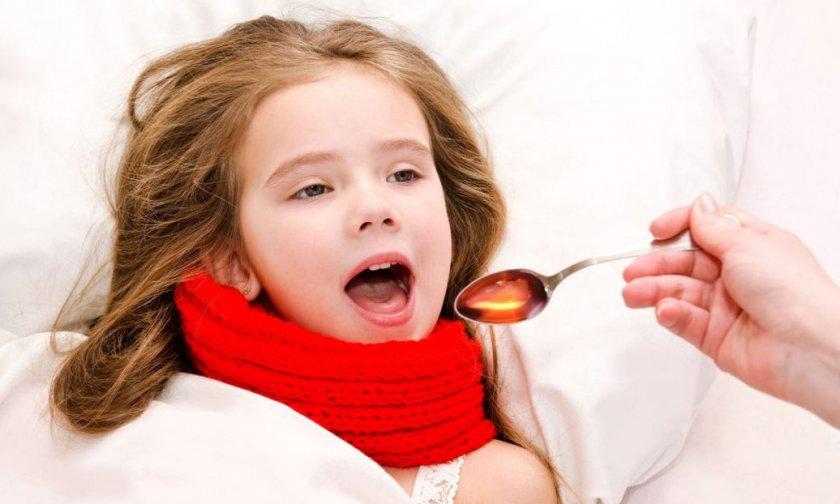 Лук с мёдом при кашле у детей