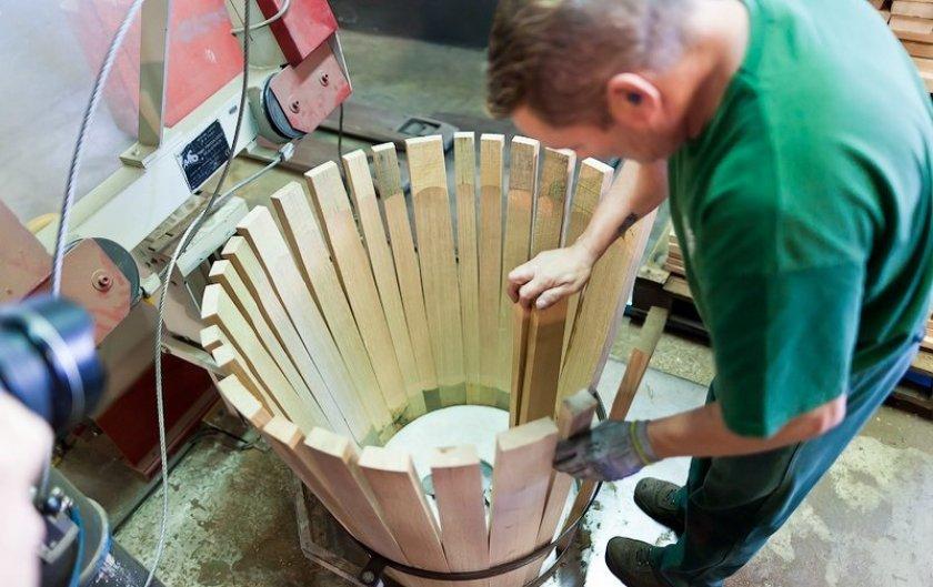 Изготовление бочки для мёда