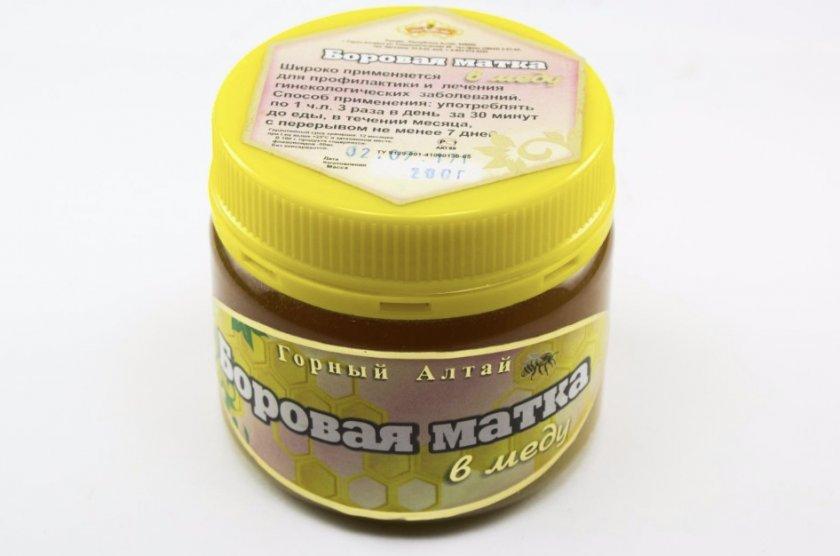 Мёд с боровой матко