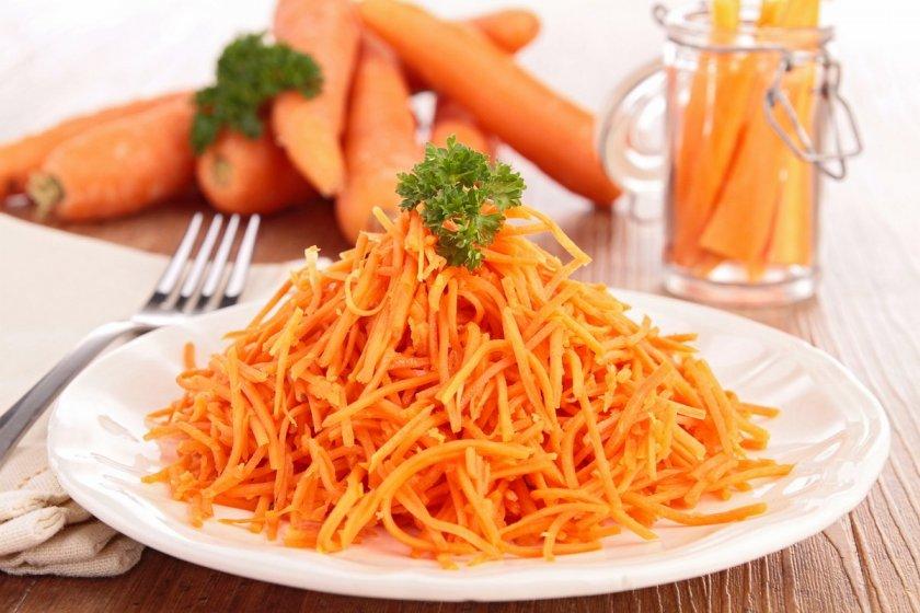 Сколько переваривается морковь