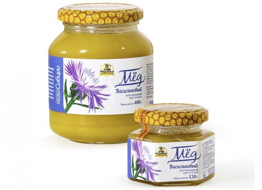 Васильковый мёд