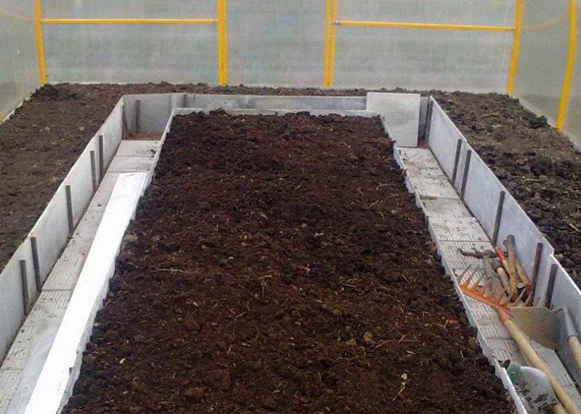 Подготовленная почва к посадке картофеля