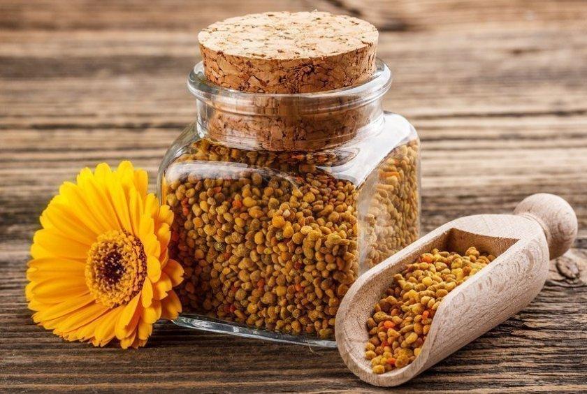 Хранение пчелиной пыльцы