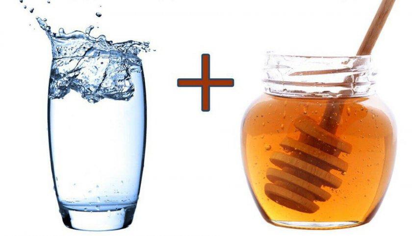 Вода и мёд