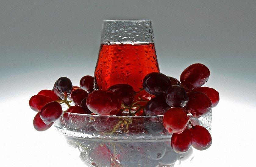 Как сделать прозрачный виноградный сок