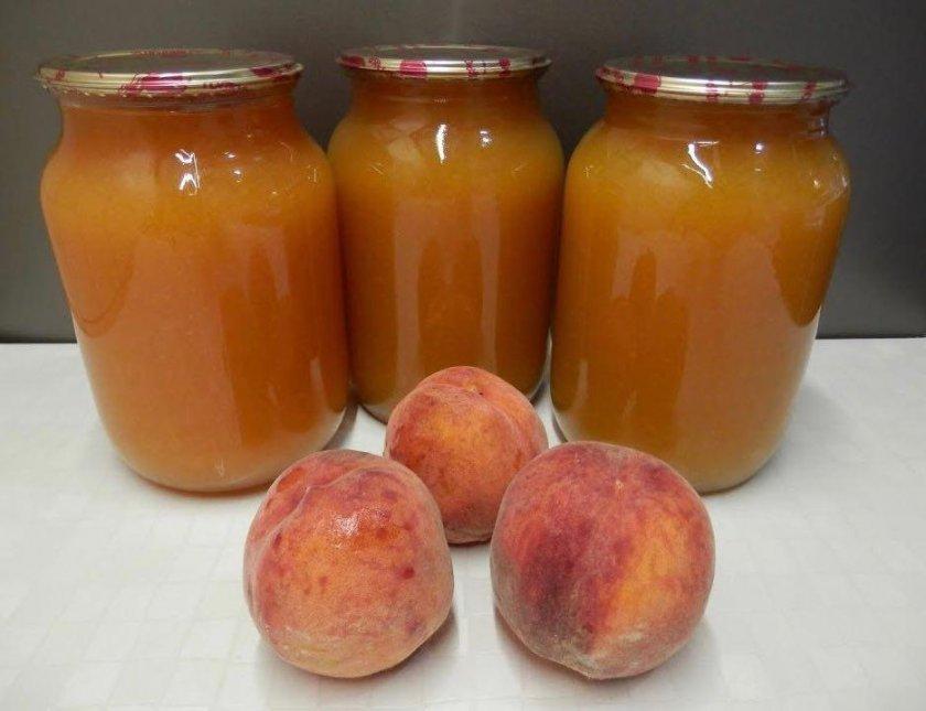 Хранение персикового сока