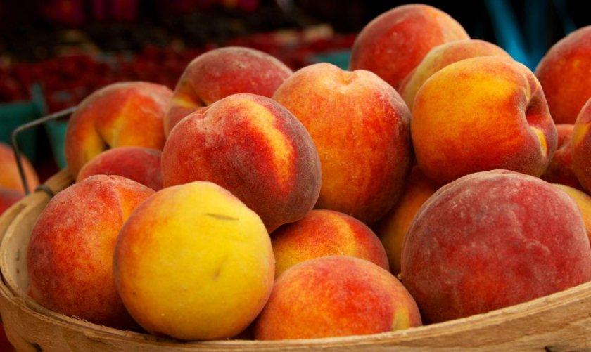 Персик сорта Сочный