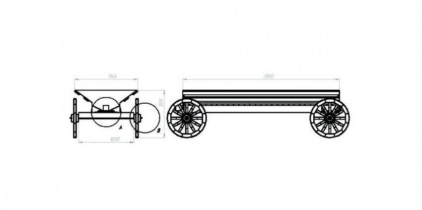 Схема телеги