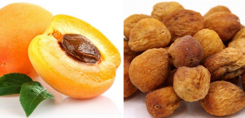 Урюк и абрикос