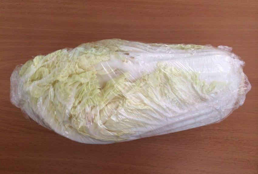 Подготовка пекинской капусты к хранению