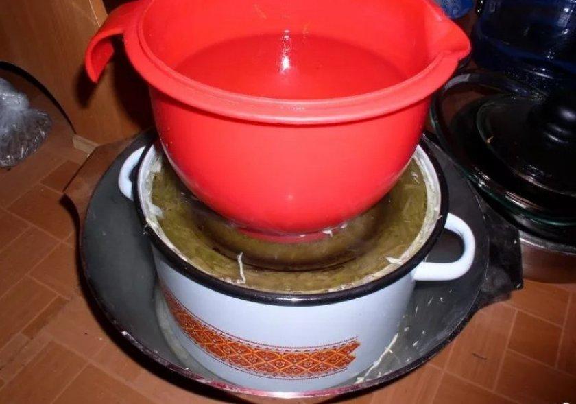 Посолить капусту на зиму в ведре рецепты