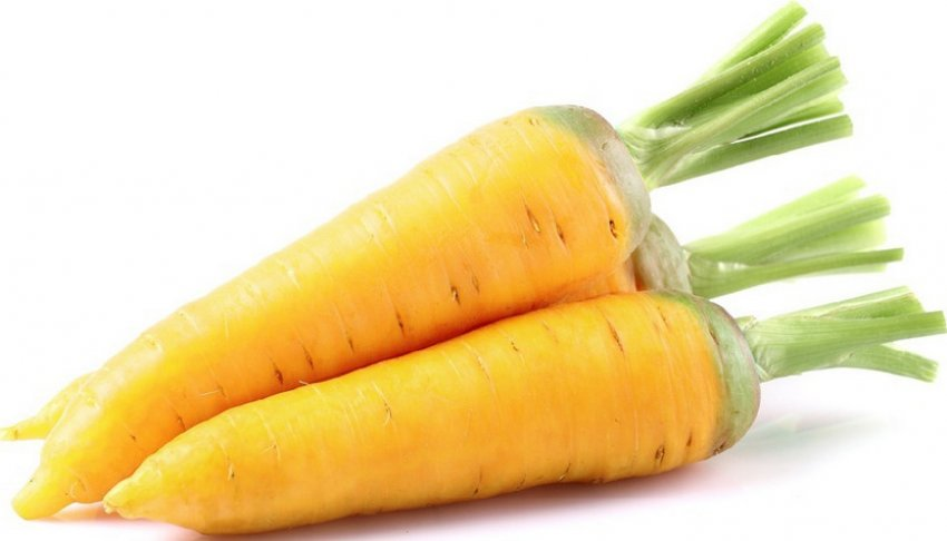 Жёлтая морковь