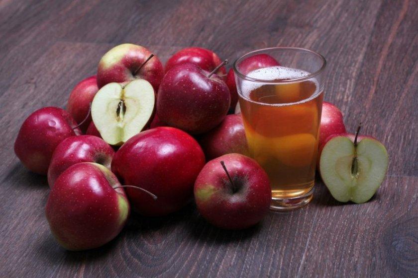 Как отжать сок из яблочного пюре