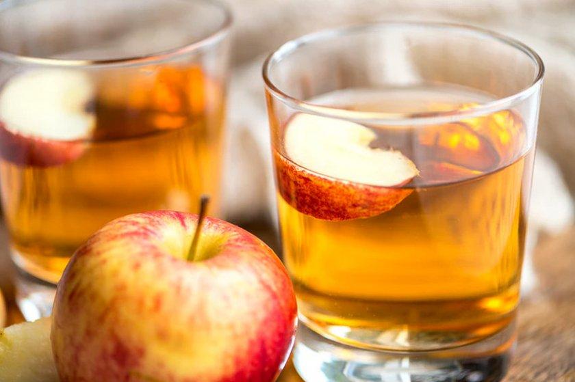 Яблочный сок без мякоти в домашних условиях
